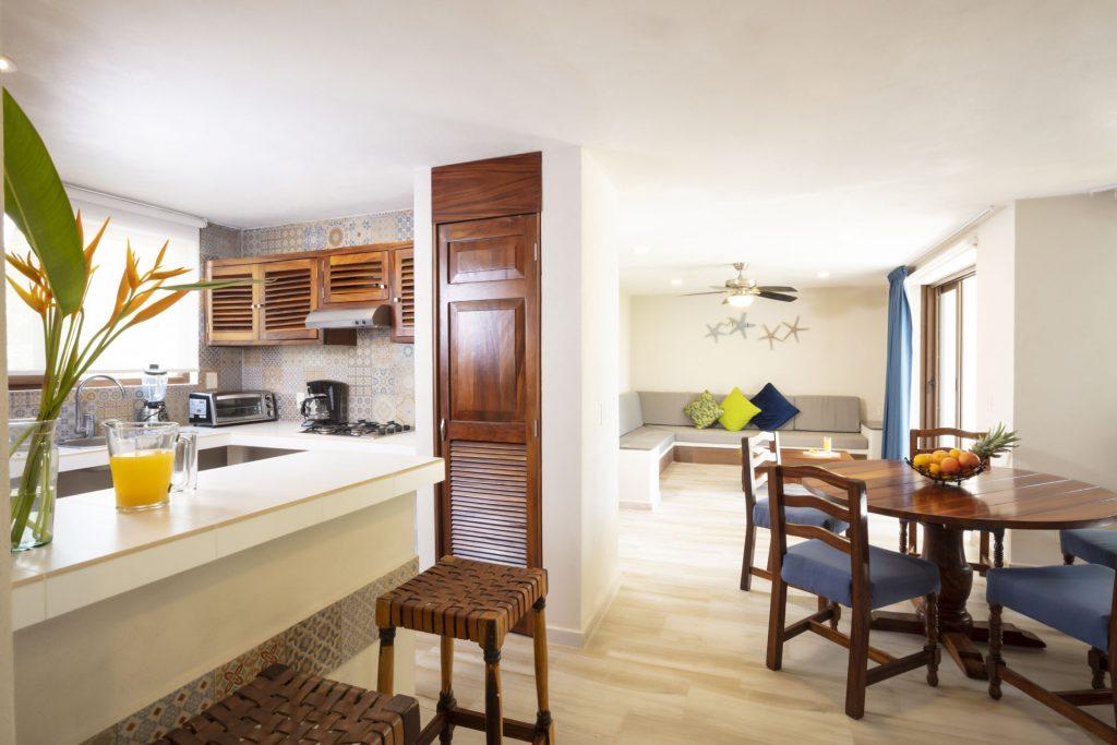 Cocina Comedor Family Suite Deluxe Hotel Vista Vallarta